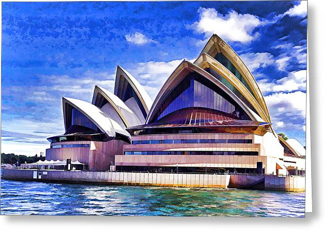 Sydney Symbol Greeting Card by Dennis Cox WorldViews