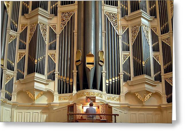 Sydney Town Hall Organ Greeting Card