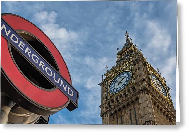 Symbols Of London Greeting Card