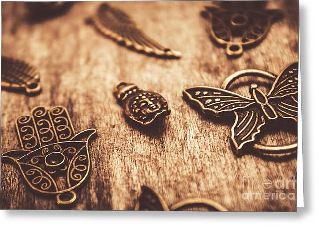 Symbols Of Zen Greeting Card