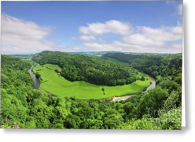Symonds Yat, England Greeting Card by Colin and Linda McKie