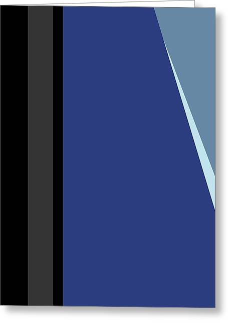 Symphony In Blue - Movement 3 - 1 Greeting Card