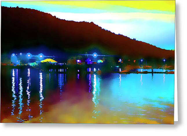 Symphony River Greeting Card