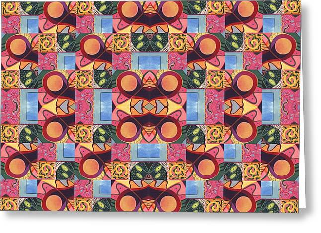 Synchronicity - A  T J O D 1 And 9 Arrangement Greeting Card