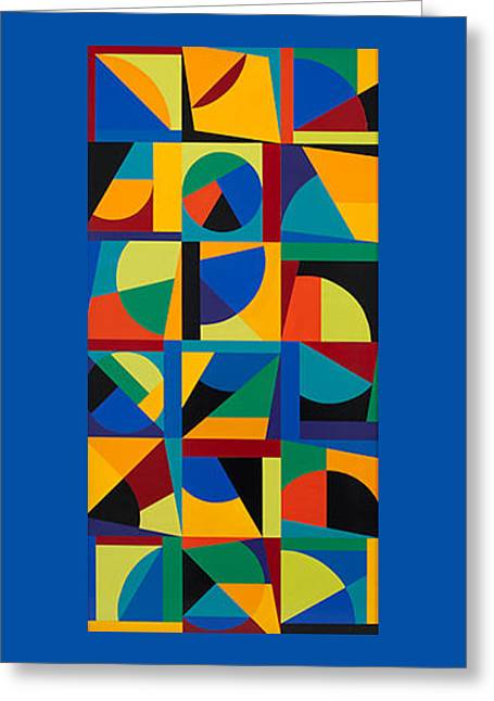 Synesthetic Brubeck Greeting Card by George Sanen
