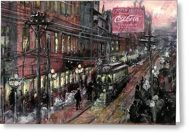 Syracuse New York Historical Greeting Card by Hall Groat Sr