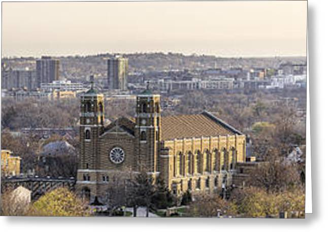 Syracuse Skyline Greeting Card by Everet Regal