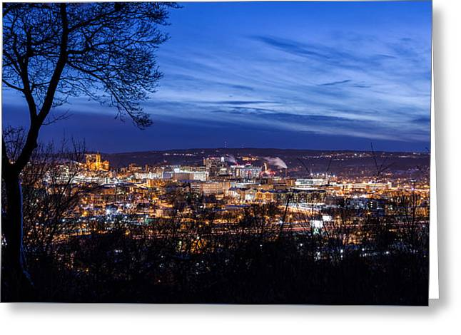 Syracuse Spectacular Greeting Card by Everet Regal