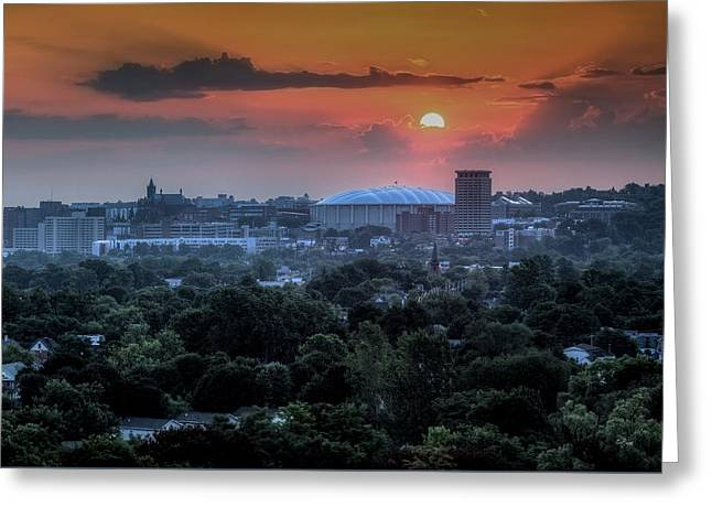 Syracuse Sunrise Greeting Card