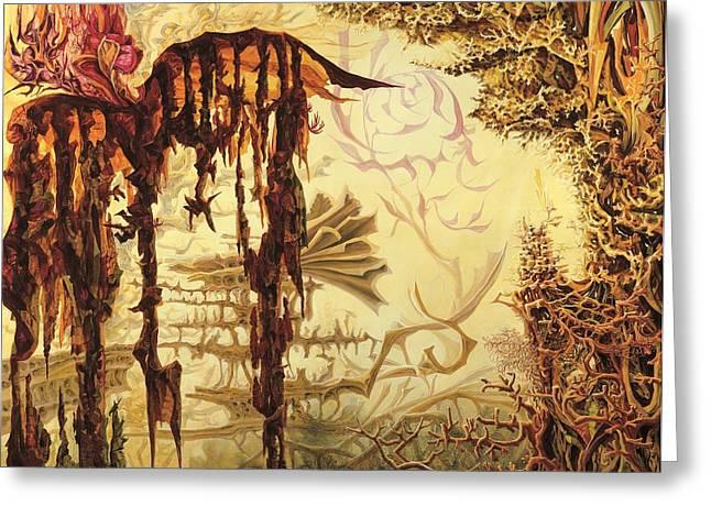 Szymanowski Landscape Greeting Card