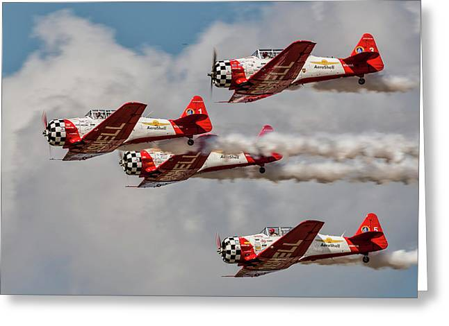T-6 Texan Greeting Card