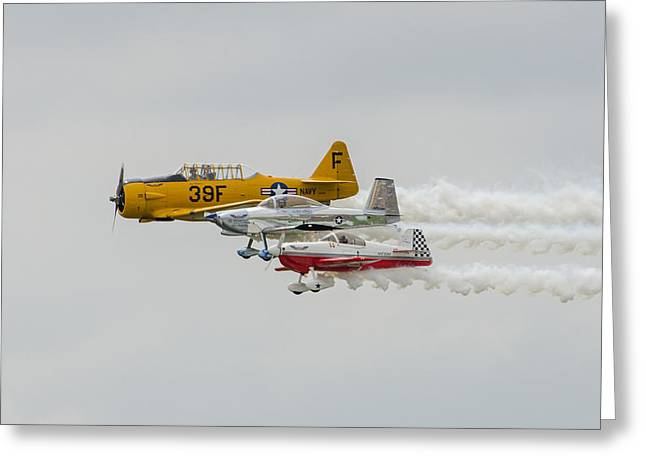 T-6 Texan   Rv-8   Dr-107 Greeting Card