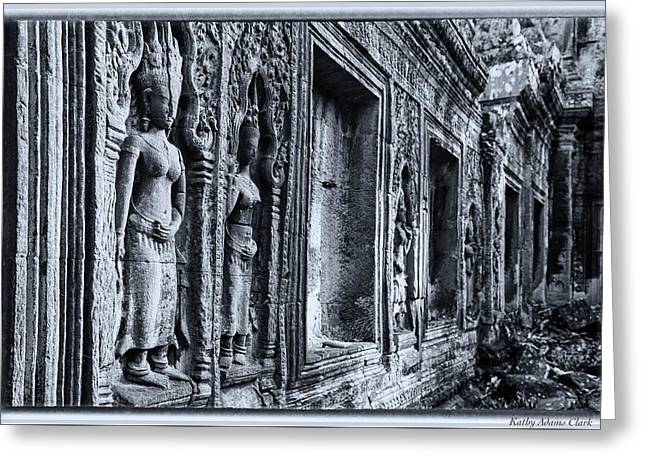 Ta Phrom Cambodia Greeting Card