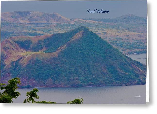 Taal Volcano Greeting Card