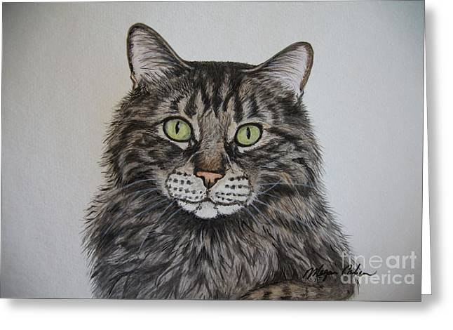 Tabby-lil' Bit Greeting Card