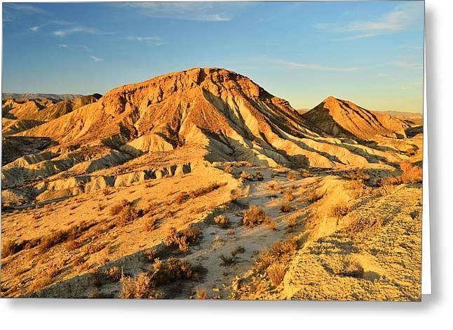 Tabernas Desert Almeria Spain Greeting Card by Marek Stepan