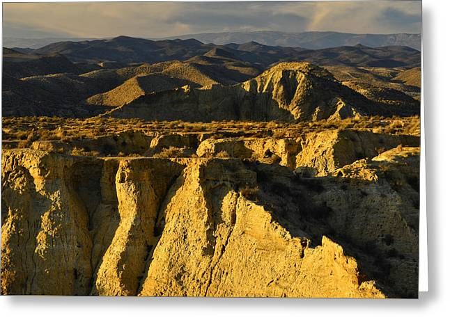 Tabernas Desert Spain Greeting Card by Marek Stepan