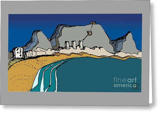 Table Mountain Greeting Card