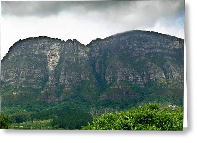 Table Mountain South Africa Greeting Card