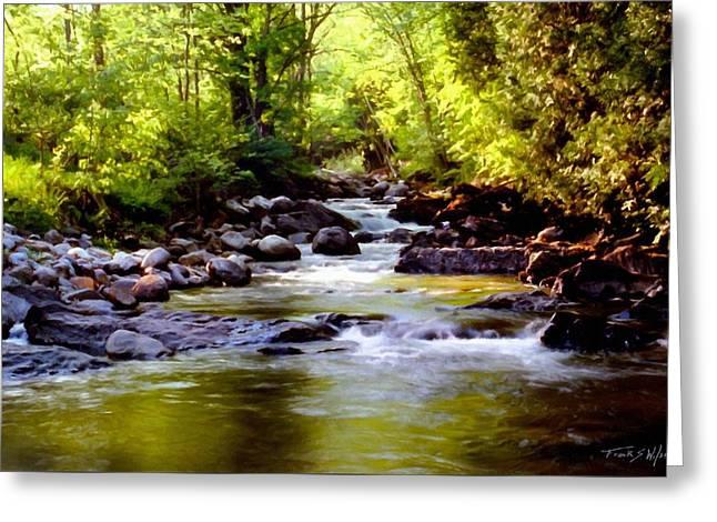 Tabor Branch Waits River Greeting Card
