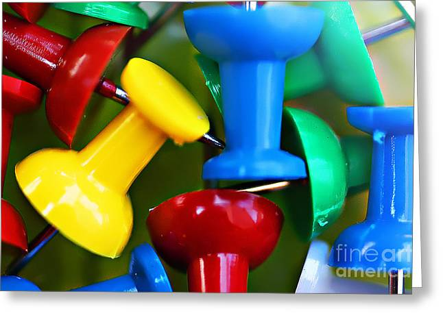 Tacky Art Greeting Card by Clayton Bruster