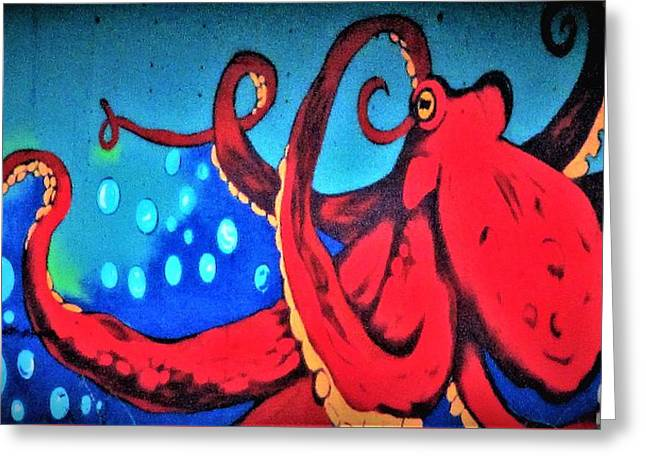 Tacoma Octopus  Greeting Card