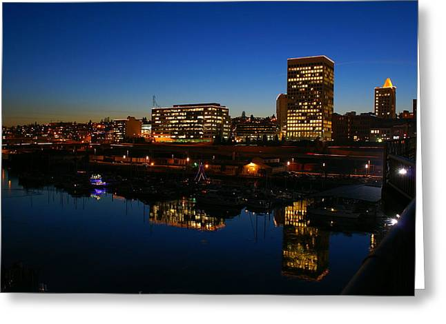 Tacoma Reflections Greeting Card