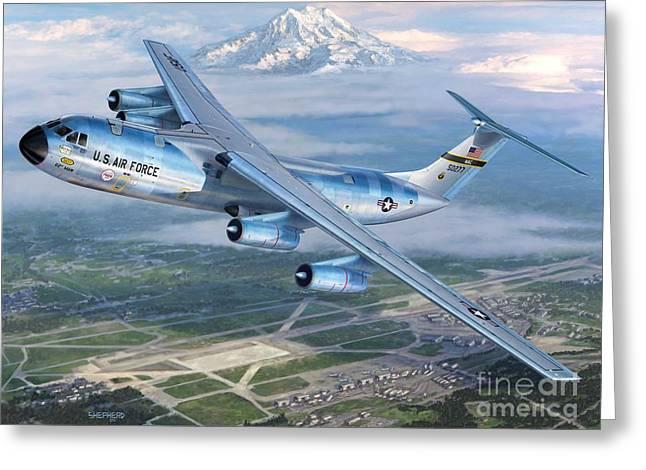 Tacoma Starlifter C-141 Greeting Card