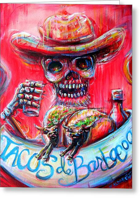 Tacos De Barbacoa Greeting Card
