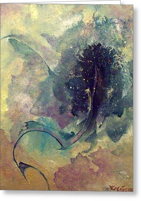 Tadpole Greeting Card by Fred Wellner