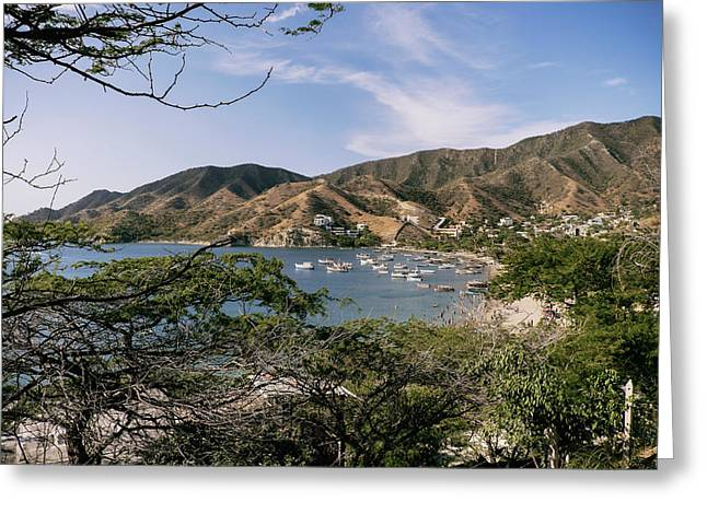 Taganga, Colombia -- Version 3 Greeting Card by Michael Evans