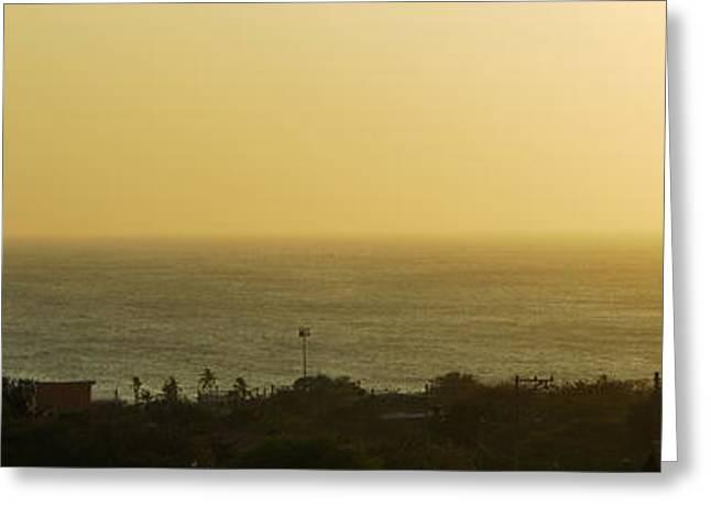Taganga Sunset Greeting Card by HQ Photo