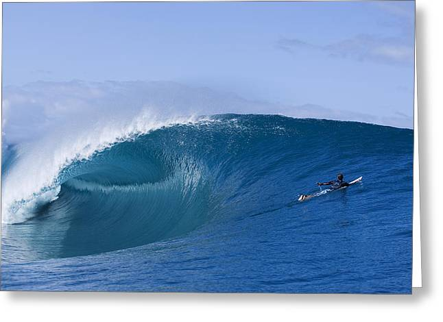 Tahiti As Good As It Gets Greeting Card by Sean Davey