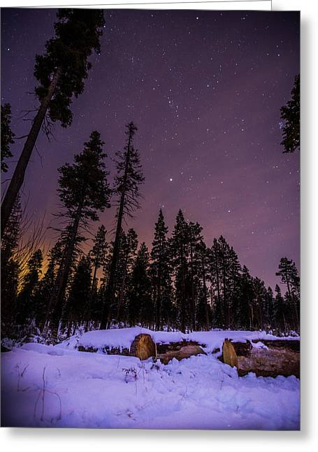 Tahoe Mountain - New Year's Eve Greeting Card by Karl Alexander