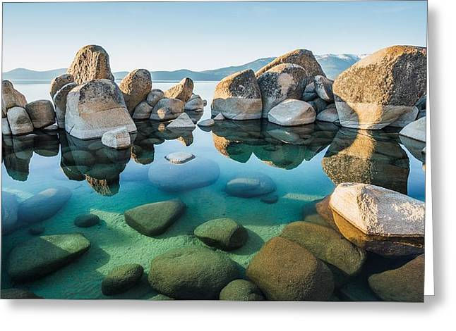Tahoe Reflections Greeting Card