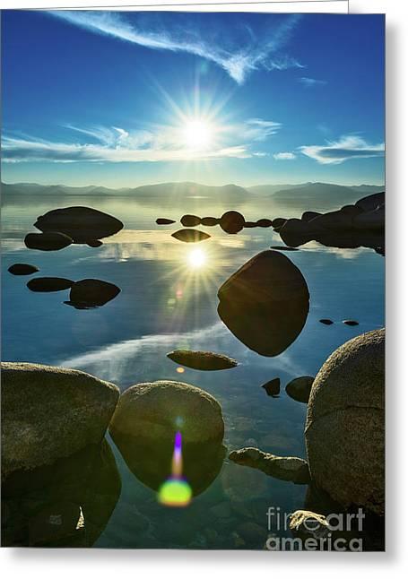 Tahoe Star Greeting Card