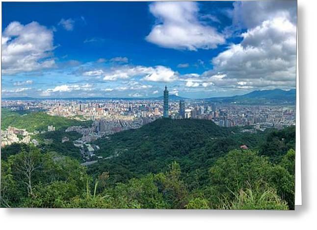 Taipei Panorama Greeting Card