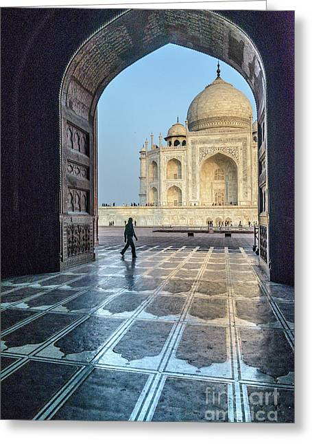 Taj Mahal 01 Greeting Card