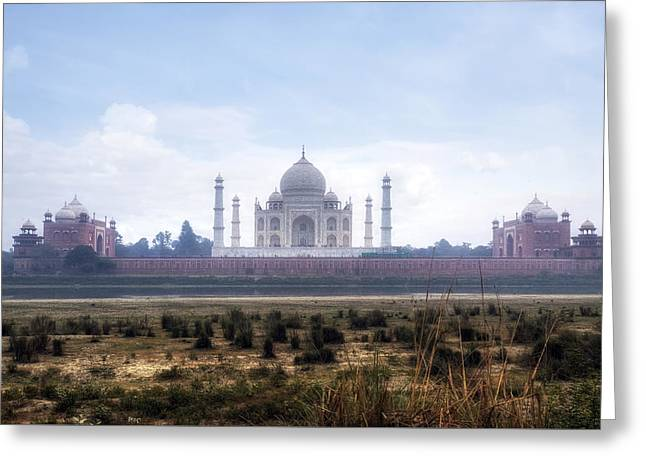 Taj Mahal - India Greeting Card by Joana Kruse