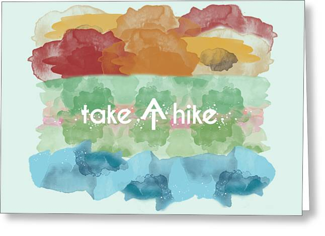 Take A Hike Appalachian Trail Greeting Card