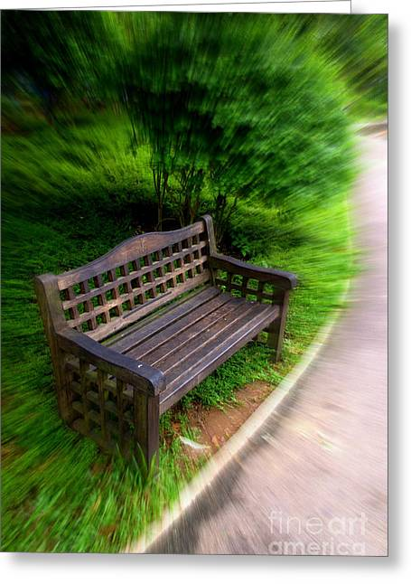 Take A Pause In Your Busy Life Greeting Card by Charuhas Images