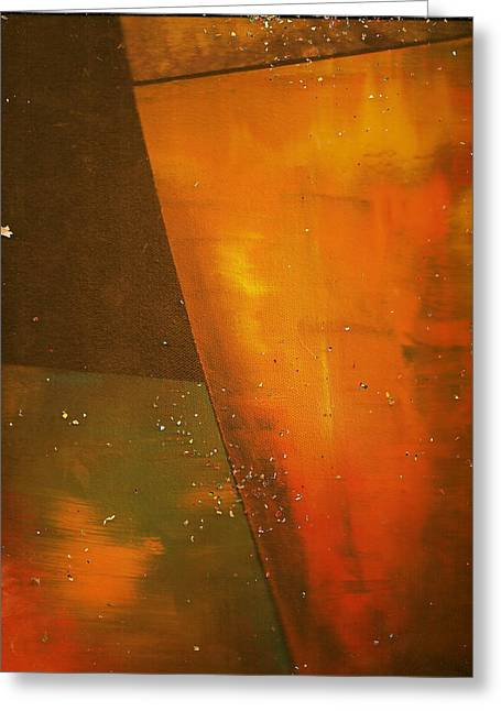 Take A Sip Of The Golden Hour Greeting Card by Anne-Elizabeth Whiteway