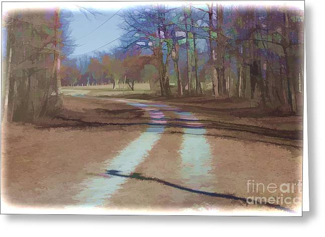 Take Me Home Country Road Greeting Card