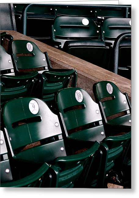 Take Me Out To The Ball Game Greeting Card by Michelle Calkins