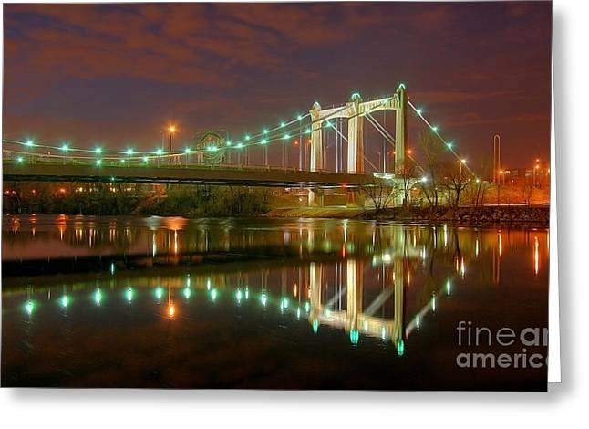 Take Me To The River Greeting Card by Wayne Moran