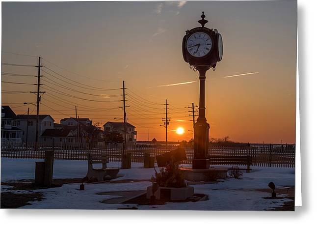 Take Time To Remember Seaside Park Nj Greeting Card by Terry DeLuco
