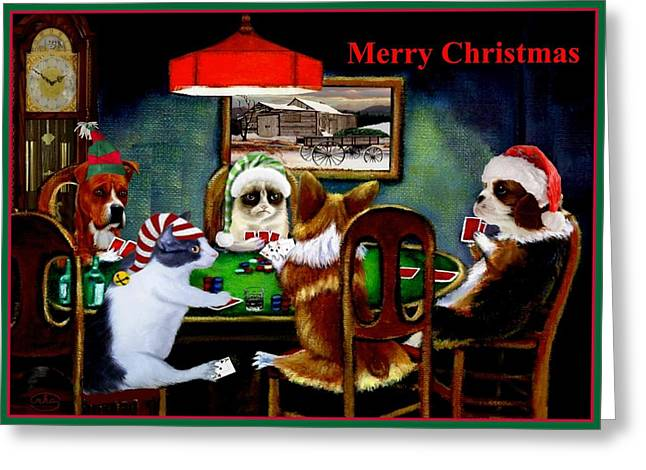 Taking A Break Greeting Card by Ron Chambers