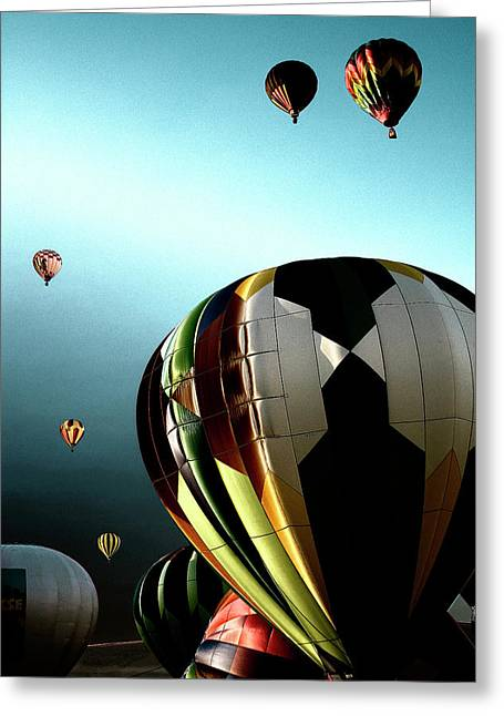 Rally Greeting Cards - Taking Off Greeting Card by David Patterson