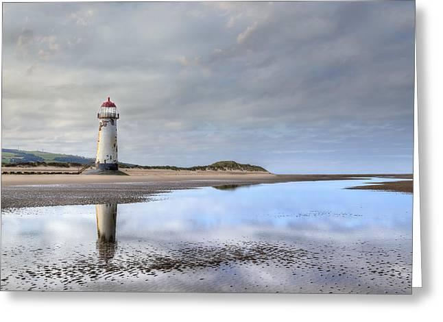Talacre Beach - Wales Greeting Card by Joana Kruse