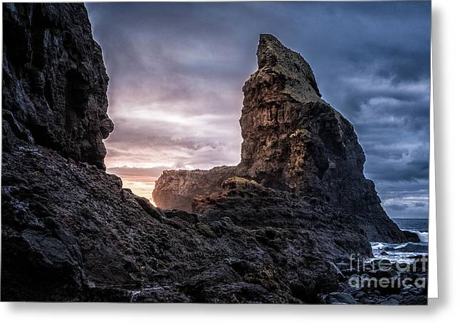 Talisker Bay Scotland - Isle Of Skye Greeting Card by Matt Trimble
